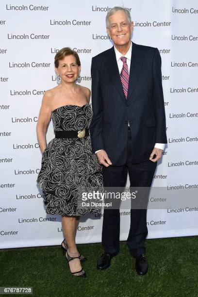 Adrienne Arsht and David H Koch attend the Lincoln Center Spring Gala at Alice Tully Hall on May 2 2017 in New York City