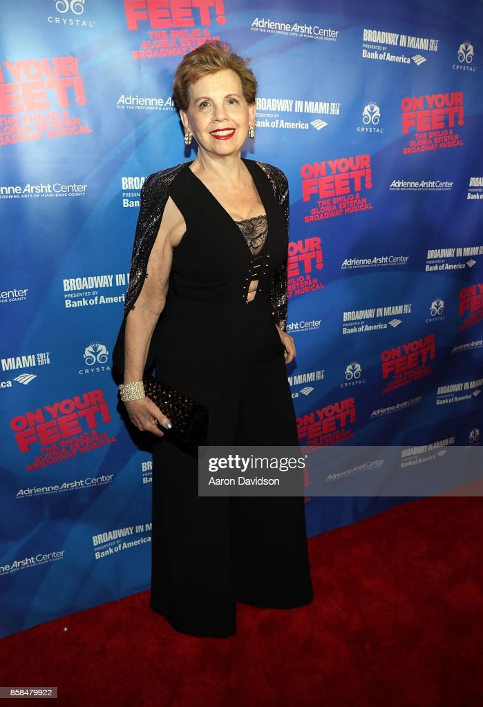 Adrienne Arsht attends 'On Your Feet!' National Tour Opening Night at Adrienne Arsht Center on October 6, 2017 in Miami, Florida.