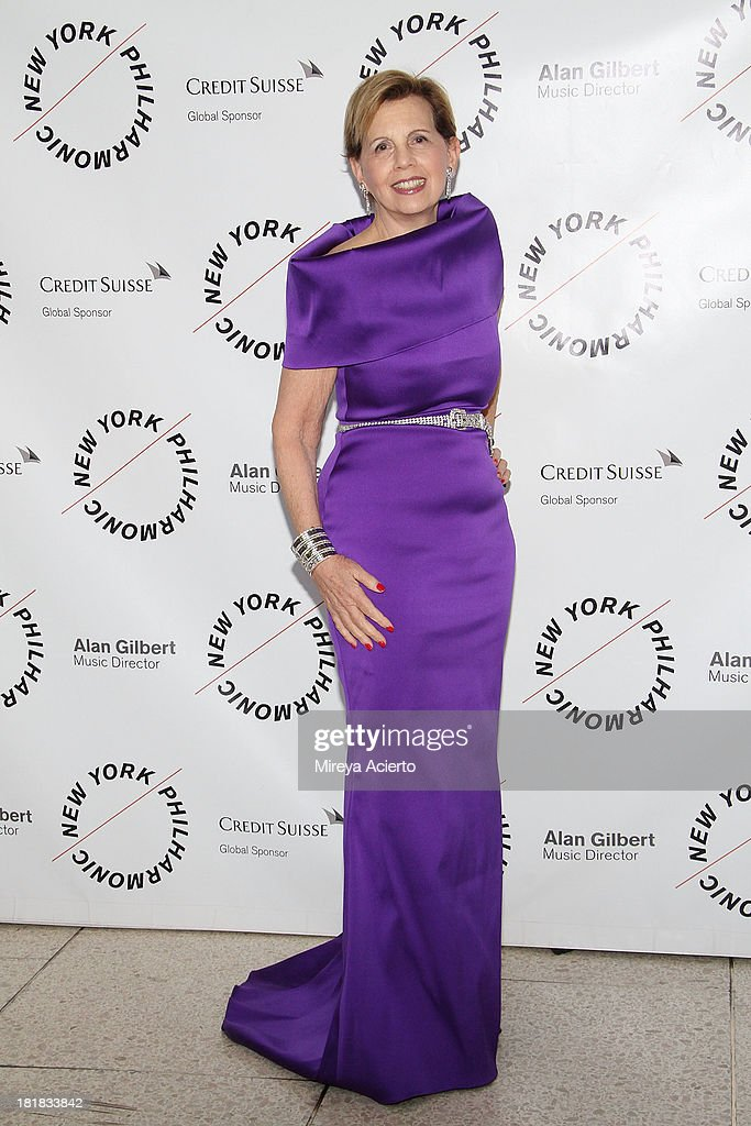 Adrienne Arsht attends the New York Philharmonic 172nd Season Opening Night Gala at Avery Fisher Hall, Lincoln Center on September 25, 2013 in New York City.