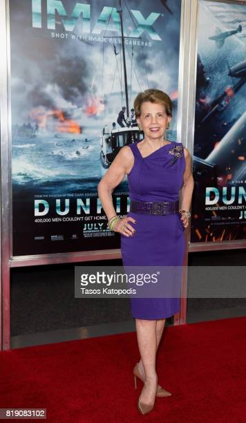 Adrienne Arsht attends the red carpet premiere of 'Dunkirk' at the Smithsonian Museum on July 19 2017 in Washington DC