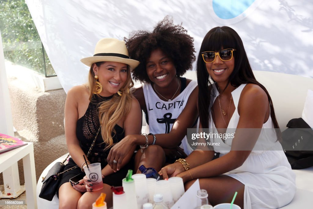 <a gi-track='captionPersonalityLinkClicked' href=/galleries/search?phrase=Adrienne+Bailon&family=editorial&specificpeople=540286 ng-click='$event.stopPropagation()'>Adrienne Bailon</a> (L) and featured host <a gi-track='captionPersonalityLinkClicked' href=/galleries/search?phrase=Kelly+Rowland&family=editorial&specificpeople=201760 ng-click='$event.stopPropagation()'>Kelly Rowland</a> (r) attend the Women Who Rock event at day 2 of the Hard Rock Music Lounge at Hard Rock Hotel Palm Springs, on April 13, 2013, in Palm Springs, California.
