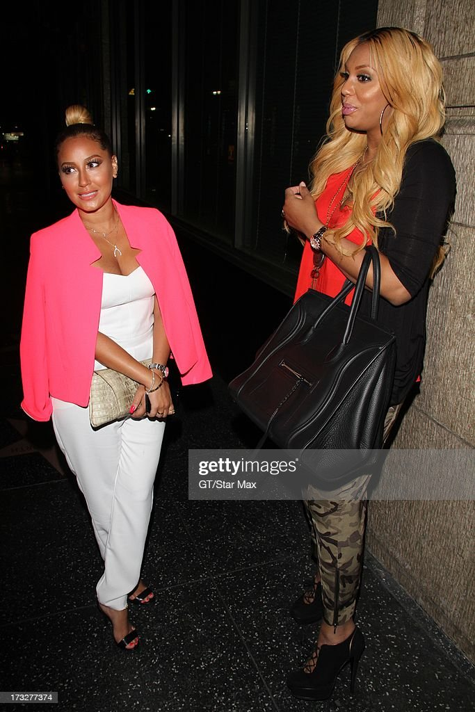 <a gi-track='captionPersonalityLinkClicked' href=/galleries/search?phrase=Adrienne+Bailon&family=editorial&specificpeople=540286 ng-click='$event.stopPropagation()'>Adrienne Bailon</a> and <a gi-track='captionPersonalityLinkClicked' href=/galleries/search?phrase=Tamar+Braxton&family=editorial&specificpeople=2079619 ng-click='$event.stopPropagation()'>Tamar Braxton</a> as seen on July 10, 2013 in Los Angeles, California.