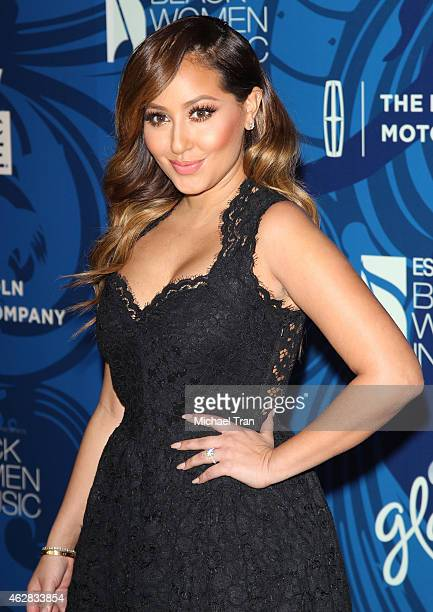 Adrienne Bailon arrives at the Essence 6th Annual Black Women In Music event held at Avalon on February 5 2015 in Hollywood California