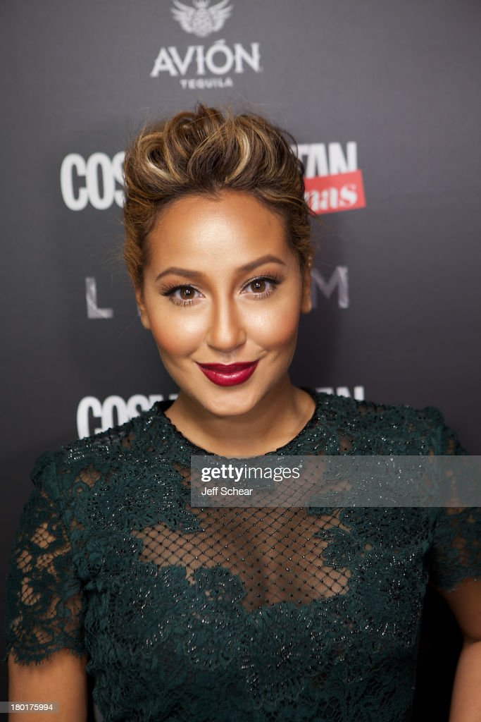 Adrienne Bailon attends Cosmopolitan For Latinas' Fall Issue Party At Lillium At W Union Square on September 9, 2013 in New York City.