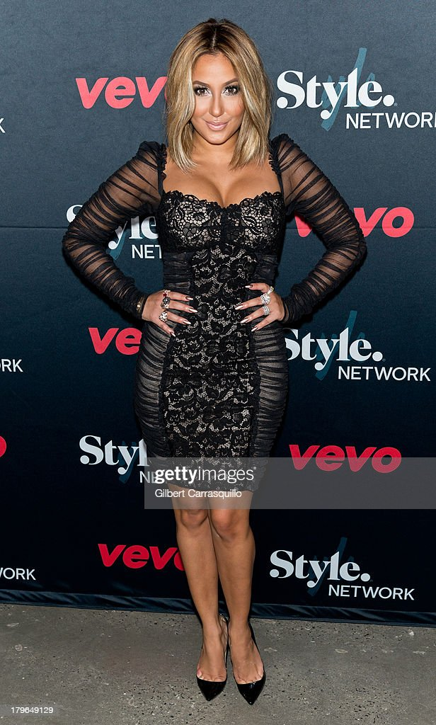 Adrienne Bailon attends Style Network's 'Style To Rock' Event at Skylight Modern on September 5 2013 in New York City