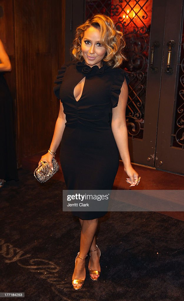<a gi-track='captionPersonalityLinkClicked' href=/galleries/search?phrase=Adrienne+Bailon&family=editorial&specificpeople=540286 ng-click='$event.stopPropagation()'>Adrienne Bailon</a> attends the 10th Annual Hennessy Privelage Awards honoring Carmelo Anthony at The Griffin on August 21, 2013 in New York City.