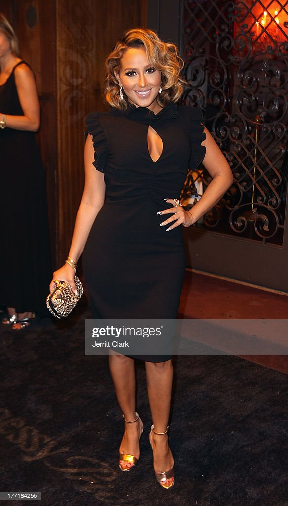Adrienne Bailon attends the 10th Annual Hennessy Privelage Awards honoring Carmelo Anthony at The Griffin on August 21, 2013 in New York City.