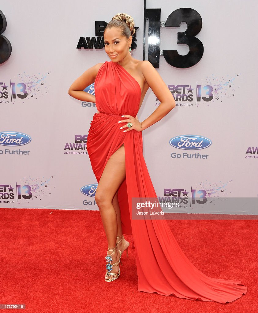 Adrienne Bailon attends the 2013 BET Awards at Nokia Theatre L.A. Live on June 30, 2013 in Los Angeles, California.