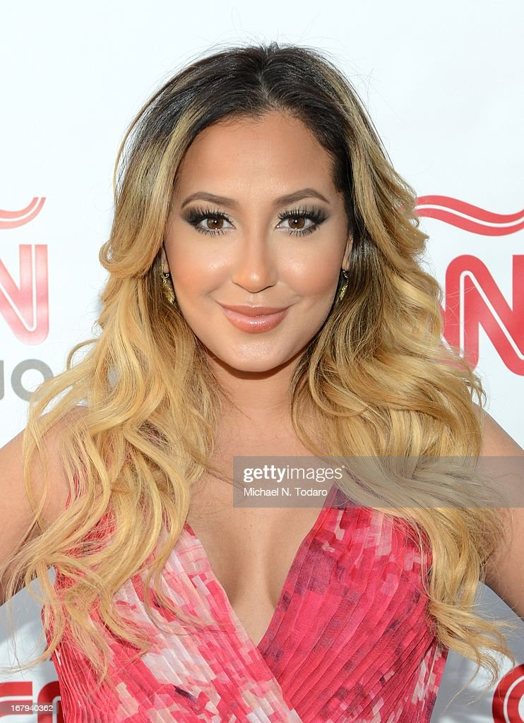 <a gi-track='captionPersonalityLinkClicked' href=/galleries/search?phrase=Adrienne+Bailon&family=editorial&specificpeople=540286 ng-click='$event.stopPropagation()'>Adrienne Bailon</a> attends the 2013 CNN en Espanol and CNN Latino Upfront at Ink 48 Hotel on May 2, 2013 in New York City.