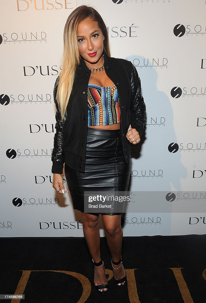 Adrienne Bailon attends the After Party at Sound Night club on July 27, 2013 in New York City.