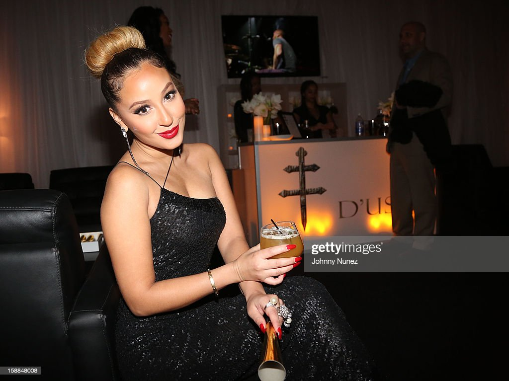 Adrienne Bailon attends the Barclays Center on December 31, 2012 in the Brooklyn borough of New York City.