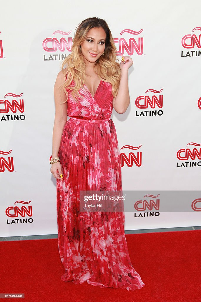 <a gi-track='captionPersonalityLinkClicked' href=/galleries/search?phrase=Adrienne+Bailon&family=editorial&specificpeople=540286 ng-click='$event.stopPropagation()'>Adrienne Bailon</a> attends the CNN en Espanol and CNN Latino 2013 Upfront at Ink 48 Hotel on May 2, 2013 in New York City.
