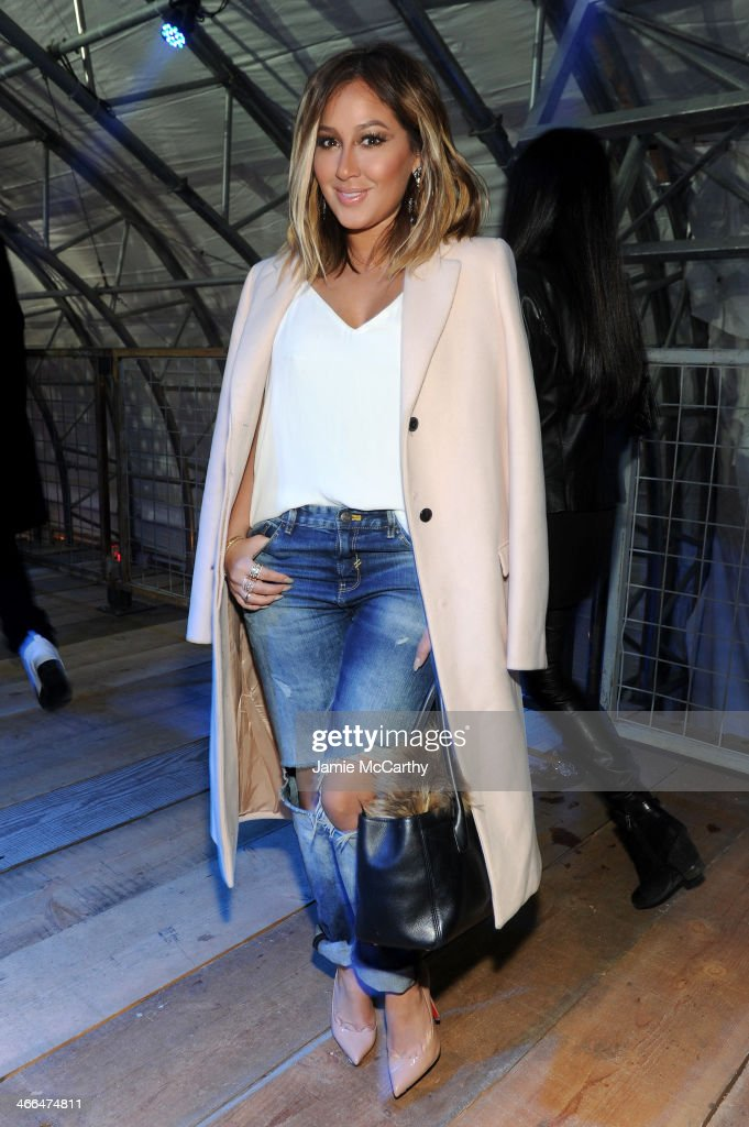 <a gi-track='captionPersonalityLinkClicked' href=/galleries/search?phrase=Adrienne+Bailon&family=editorial&specificpeople=540286 ng-click='$event.stopPropagation()'>Adrienne Bailon</a> attends the DirecTV Super Saturday Night at Pier 40 on February 1, 2014 in New York City.
