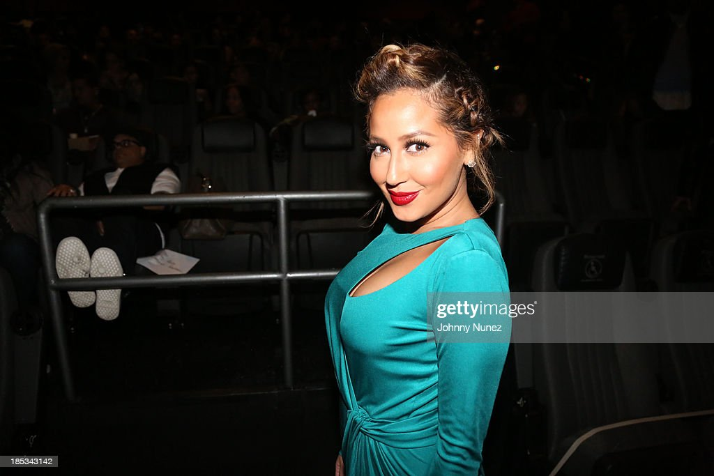 Adrienne Bailon attends the 'I'm In Love With a Church Girl' screening at the Regal E-Walk Stadium 13 on October 18, 2013 in New York City.