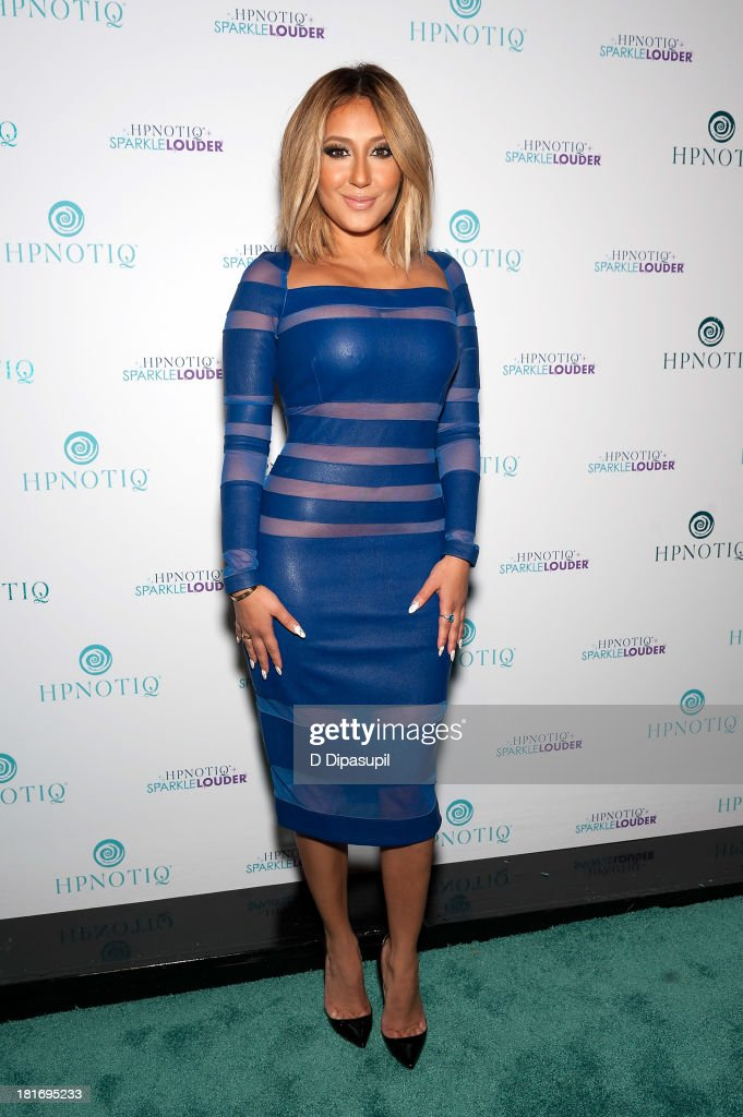 <a gi-track='captionPersonalityLinkClicked' href=/galleries/search?phrase=Adrienne+Bailon&family=editorial&specificpeople=540286 ng-click='$event.stopPropagation()'>Adrienne Bailon</a> attends the Sparkle Louder program launch event at Provacateur on September 23, 2013 in New York City.