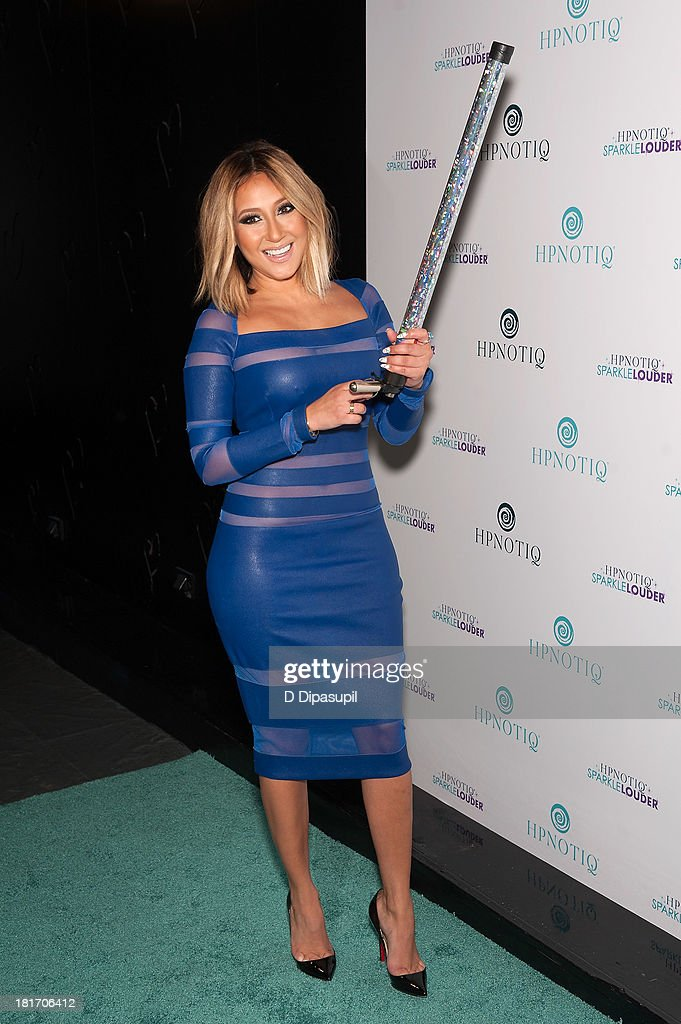Adrienne Bailon attends the Sparkle Louder program launch event at Provacateur on September 23, 2013 in New York City.