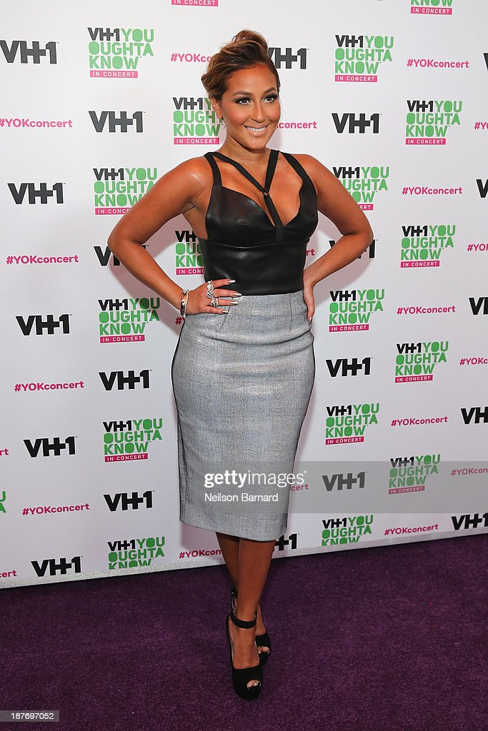 <a gi-track='captionPersonalityLinkClicked' href=/galleries/search?phrase=Adrienne+Bailon&family=editorial&specificpeople=540286 ng-click='$event.stopPropagation()'>Adrienne Bailon</a> attends VH1 'You Oughta Know In Concert' 2013 on November 11, 2013 at Roseland Ballroom in New York City.