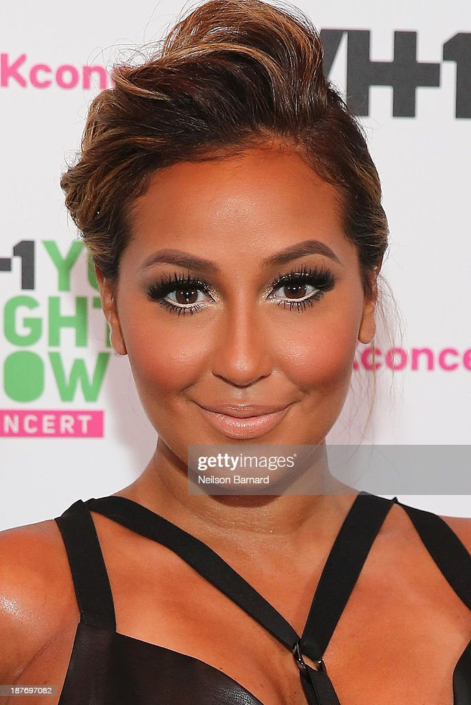 Adrienne Bailon attends VH1 'You Oughta Know In Concert' 2013 on November 11, 2013 at Roseland Ballroom in New York City.
