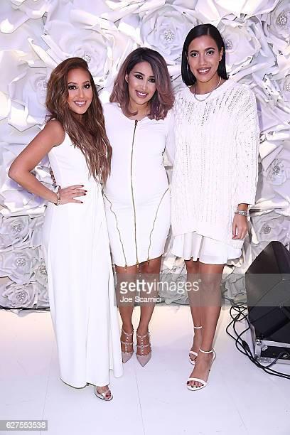 Adrienne Bailon Tamanna Roashan and Julissa Bermudez attend the #VanityHeaven Flagship Store Grand Opening on December 3 2016 in Tustin California