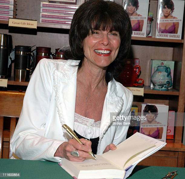 Adrienne Barbeau book signing 'There Are Worse Things I Can Do'