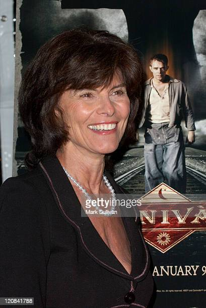 Adrienne Barbeau during HBO's 'Carnivale' Season 2 Premiere Arrivals at Paramount Studios in Hollywood California United States