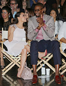 Adrienne Bosh and Chris Bosh attend 'A Night on the Runwade' to benefit Wade's World Foundation at Ice Palace Film Studios on November 18 2014 in...