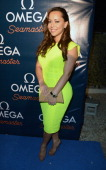 Adrienne Bosh attends Omega Seamaster Planet Ocean Party at SLS South Beach on July 19 2012 in Miami Florida
