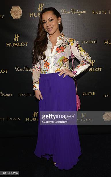 Adrienne Bosh attends the Haute Living Miami's 'Woman Of Substance Woman Of The Year' Awards 2013 on November 20 2013 in Miami Florida