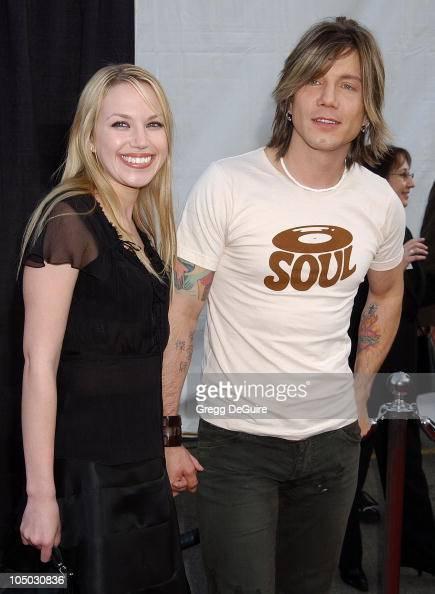 Adrienne Frantz and Johnny Rzeznik of the Goo Goo Dolls