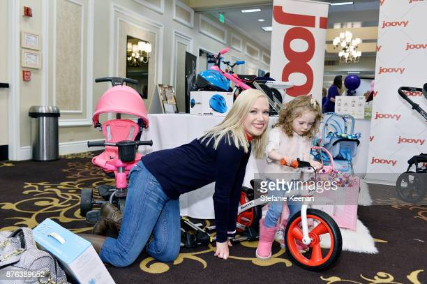 Adrienne Frantz attends Diono Presents Inaugural A Day of Thanks and Giving Event at The Beverly Hilton Hotel on November 19 2017 in Beverly Hills...