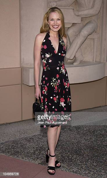 Adrienne Frantz during 30th Annual Daytime Emmy Awards Creative Arts Nominee Reception at ATAS Leonard H Goldenson Theater in North Hollywood...