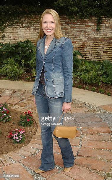 Adrienne Frantz during Wildlife Waystation Presents The 8th Annual Safari Brunch at Private Home in Pasadena California United States
