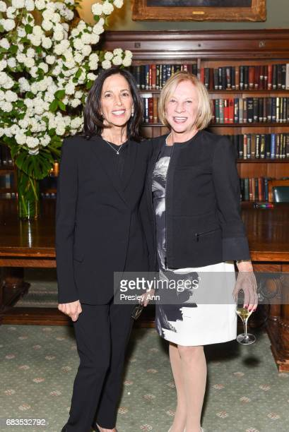 Adrienne Gordan and Myrna Haft attend Audrey Gruss' Hope for Depression Research Foundation Dinner with Author Daphne Merkin at The Metropolitan Club...
