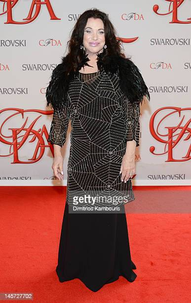 Adrienne Landau attends the 2012 CFDA Fashion Awards at Alice Tully Hall on June 4 2012 in New York City