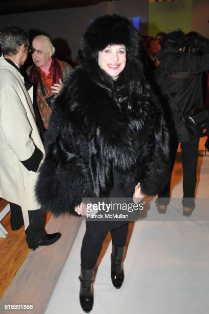 Adrienne Landau attends THE BLONDS Fall 2010 Collection at Altman Building on February 16 2010 in New York City