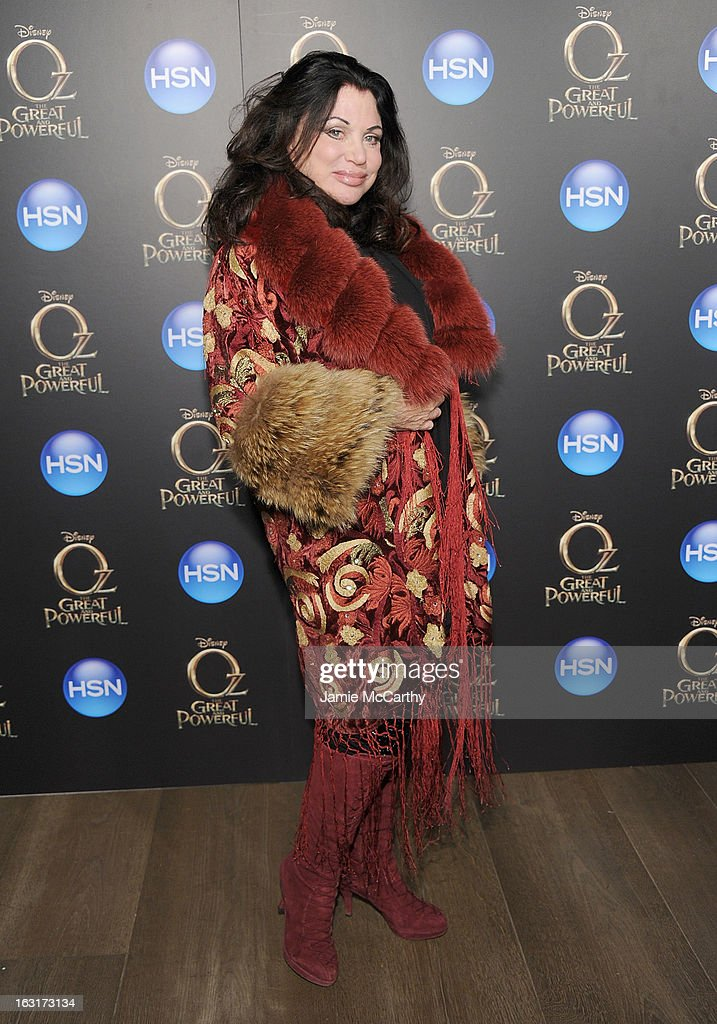 Adrienne Landau attends the 'Oz The Great And Powerful' VIP screening at the Crosby Street Hotel on March 5, 2013 in New York City.