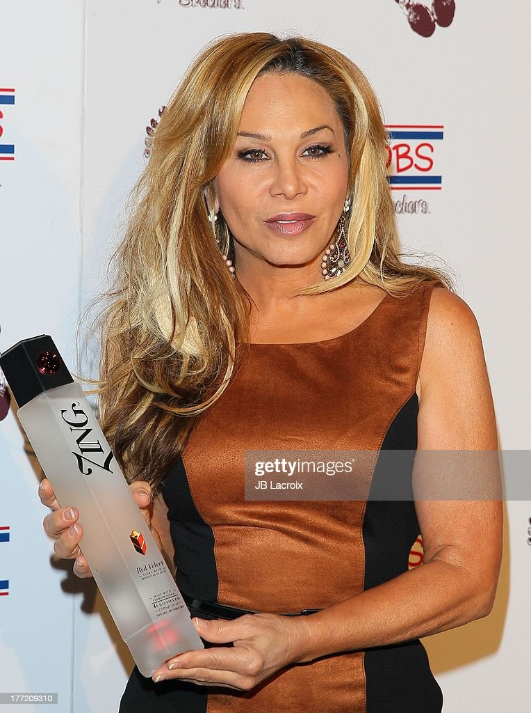 Adrienne Maloof attends the Bobs From Skechers 'Summer Soiree' Hosted By Brand Ambassador Brooke Burke-Charvet held at SkyBar at the Mondrian Los Angeles on August 21, 2013 in West Hollywood, California.