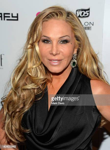 Adrienne Maloof attends the Star Scene Stealers Event held at the Tropicana Bar at The Hollywood Rooselvelt Hotel on October 1 2013 in Hollywood...