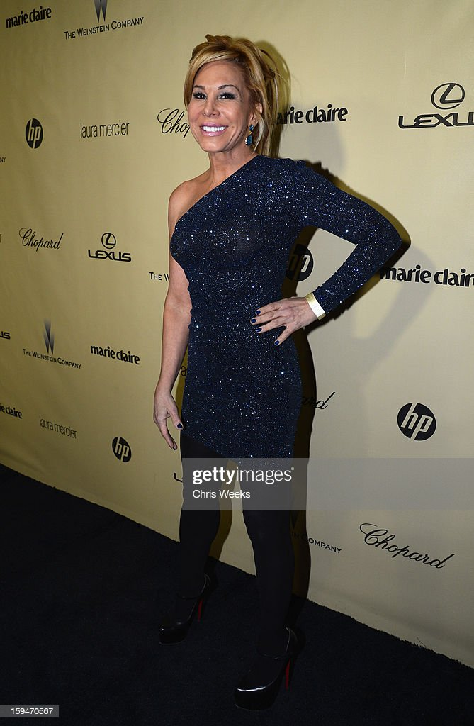 Adrienne Maloof attends The Weinstein Company's 2013 Golden Globe Awards after party presented by Chopard, HP, Laura Mercier, Lexus, Marie Claire, and Yucaipa Films held at The Old Trader Vic's at The Beverly Hilton Hotel on January 13, 2013 in Beverly Hills, California.