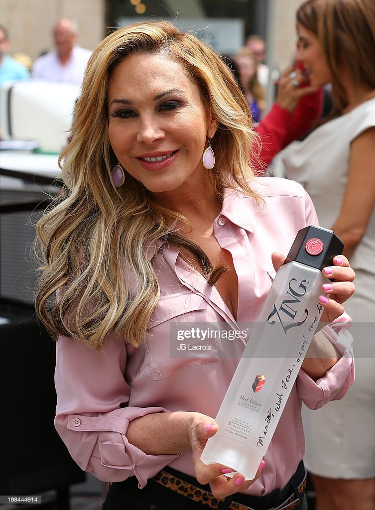 Adrienne Maloof is seen on May 9, 2013 in Los Angeles, California.