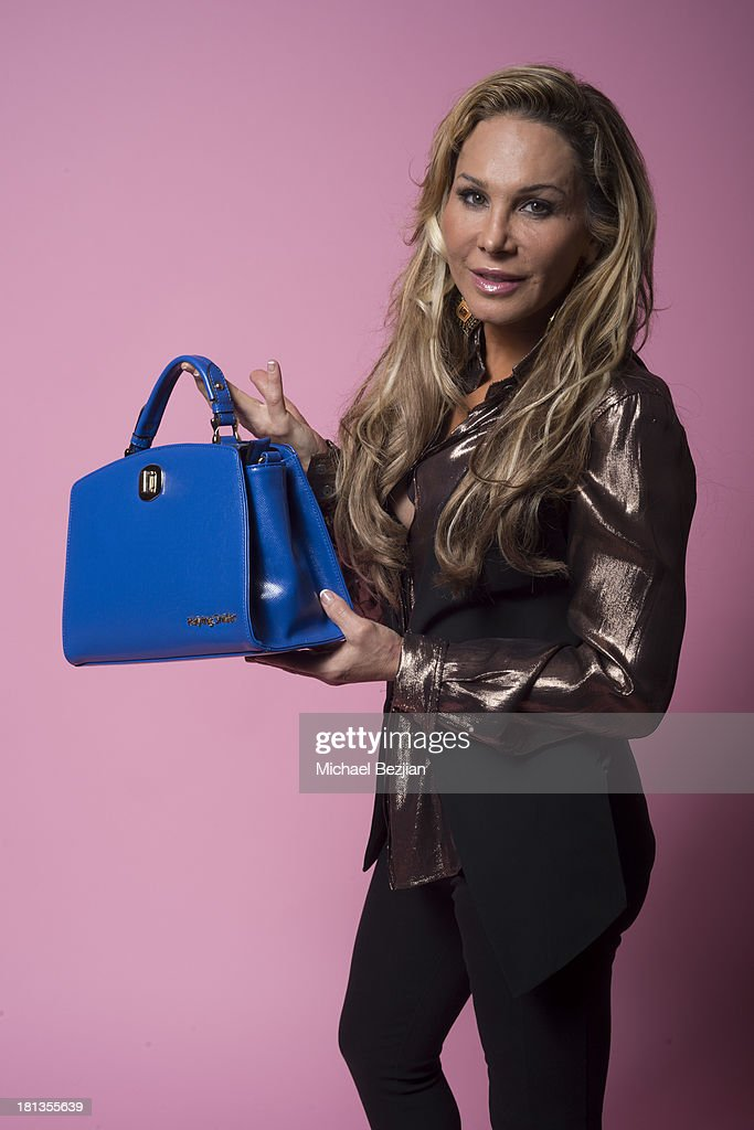 Adrienne Maloof poses for a portrait at Mark Kearney Group - 'Iced Out' Luxury Emmy Suite - Inside - Day 1 on September 19, 2013 in Los Angeles, California.