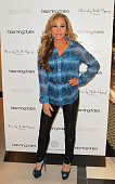 Adrienne Maloof previews her 2014 Beverly Hills Gypsy collection at Glendale Galleria on November 8 2013 in Glendale California