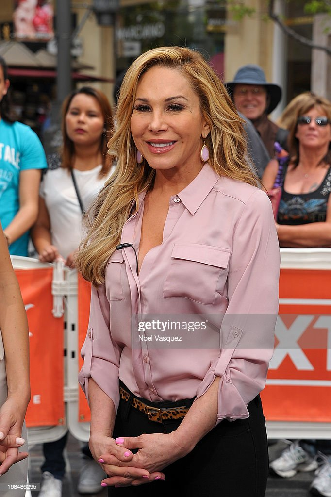 Adrienne Maloof visits 'Extra' at The Grove on May 9, 2013 in Los Angeles, California.