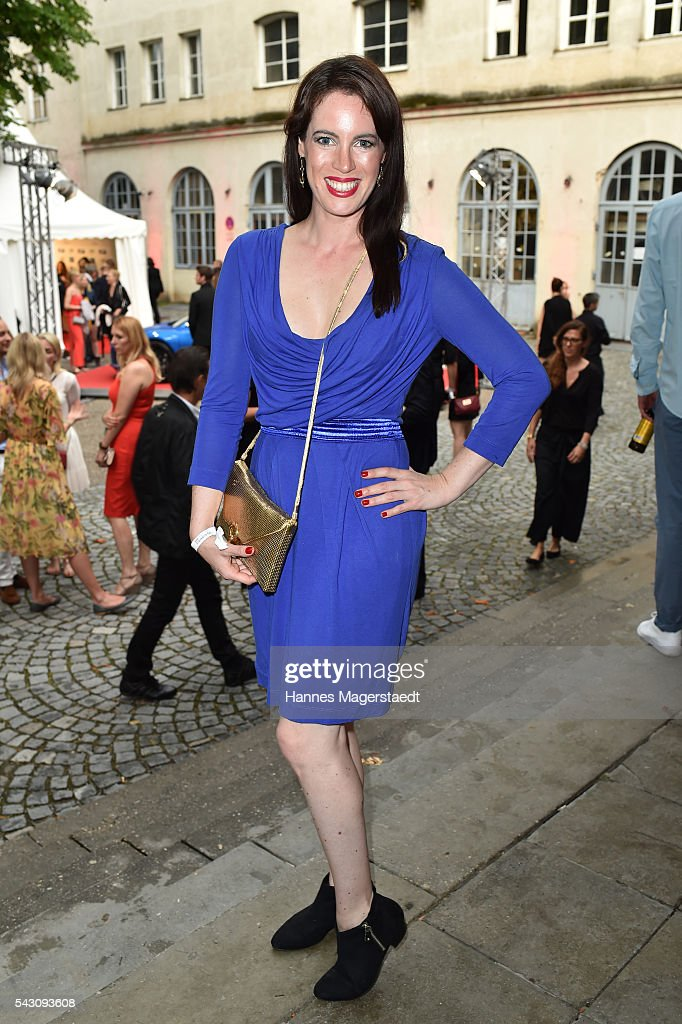 Adrienne McQueen during the Audi Director's Cut during the Munich Film Festival 2016 at Praterinsel on June 25, 2016 in Munich, Germany.