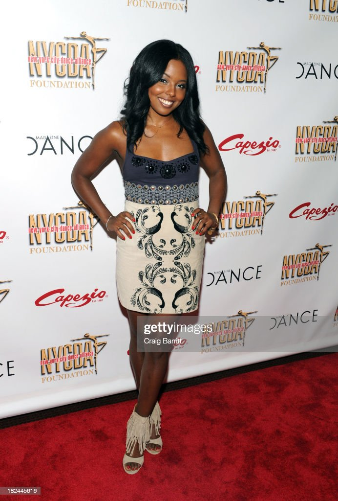 Adrienne Warren attends the 2013 NYC Dance Alliance Foundation Gala at the NYU Skirball Center on September 29, 2013 in New York City.