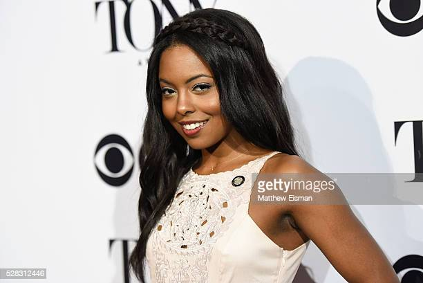 Adrienne Warren attends the 2016 Tony Awards Meet The Nominees Press Junket at Diamond Horseshoe at the Paramount Hotel on May 4 2016 in New York City