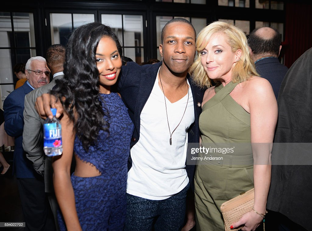 <a gi-track='captionPersonalityLinkClicked' href=/galleries/search?phrase=Adrienne+Warren&family=editorial&specificpeople=6536003 ng-click='$event.stopPropagation()'>Adrienne Warren</a>, <a gi-track='captionPersonalityLinkClicked' href=/galleries/search?phrase=Leslie+Odom&family=editorial&specificpeople=9133547 ng-click='$event.stopPropagation()'>Leslie Odom</a> Jr., and <a gi-track='captionPersonalityLinkClicked' href=/galleries/search?phrase=Jane+Krakowski&family=editorial&specificpeople=203166 ng-click='$event.stopPropagation()'>Jane Krakowski</a> arrive at A Toast To The 2016 Tony Awards Creative Arts Nominees at The Lambs Club on May 24, 2016 in New York City.