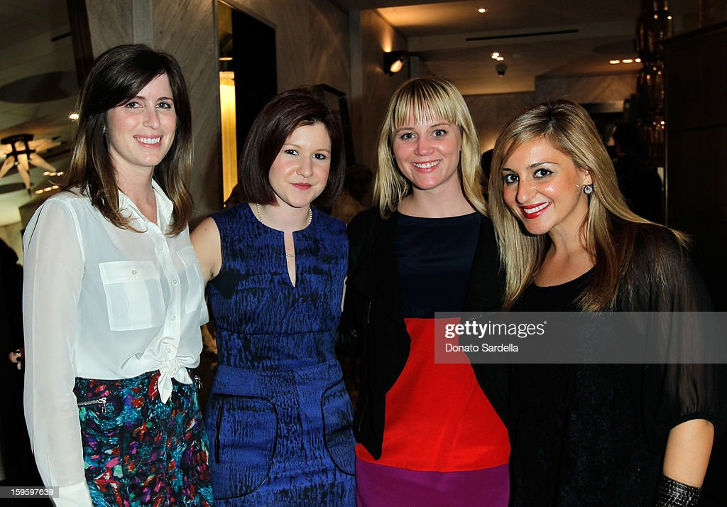 Adrienne White, Alexandra Zigring, Stephanie Helper and Giovanna Silvestre attend Kelly Wearstler and LACMA's Avant-Garde celebrating her eponymous new book Kelly Wearstler: 'Rhapsody' at Kelly Wearstler Boutique on January 16, 2013 in West Hollywood, California.
