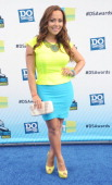 Adrienne Williams arrives at the 2012 Do Something Awards at Barker Hangar on August 19 2012 in Santa Monica California