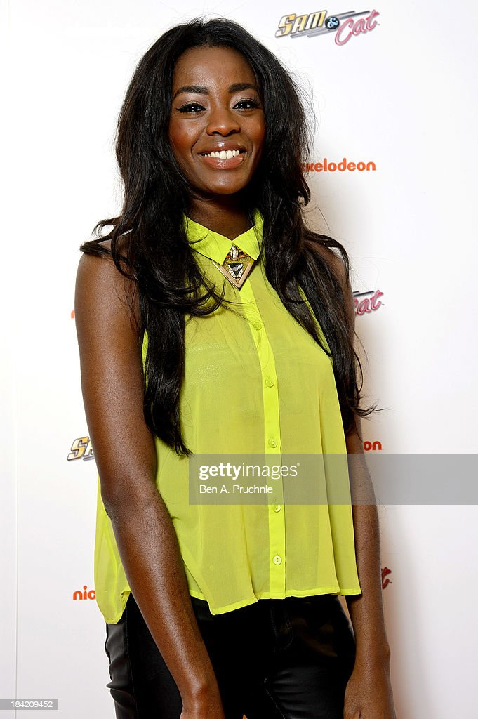 AJ Adudu attends the UK Premiere of Sam & Cat at Cineworld 02 Arena on October 12, 2013 in London, England.